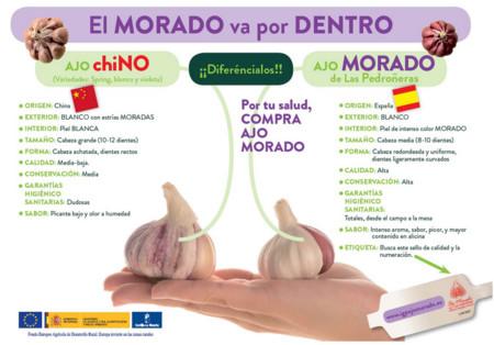 Campana Ajo Chino Y Espanol