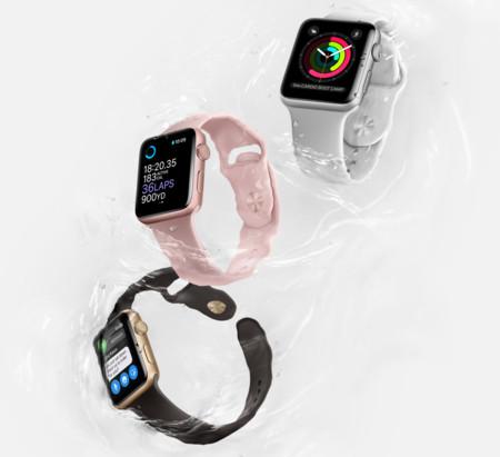 Apple Watch Series 2, resistencia al agua y GPS como principales mejoras
