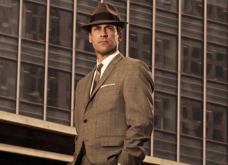 El estilo de Jon Hamm, Don Draper en la serie Mad Men: elegancia sesentera