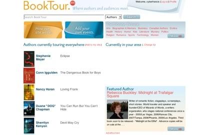 BookTour, siguiendo a los autores favoritos de libros