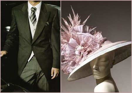 Dress Code para la boda del príncipe Guillermo y Catherine Middleton. Boda de lujo de día