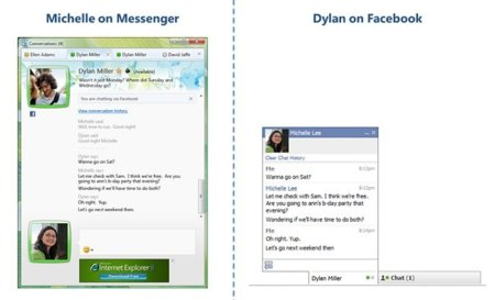 Ya es posible usar el chat de Facebook desde Windows Live Messenger