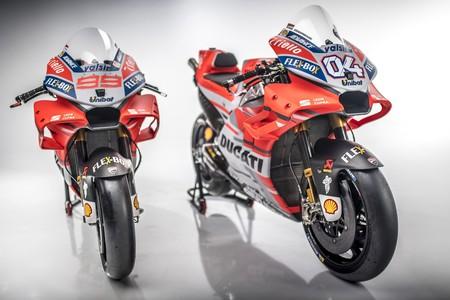 Toma: 101 fotos para conocer en detalle a la nueva Ducati Desmosedici GP18 de Lorenzo y Dovizioso