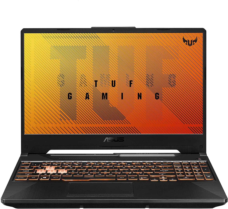 "ASUS TUF Gaming F15 FX506LH-HN042 - Portátil Gaming de 15.6"" FullHD 144Hz (Intel Core i5-10300H, 16GB RAM, 512GB SSD, NVIDIA GTX1650-4GB, Sin Sistema Operativo) Negro Hoguera - Teclado QWERTY español"