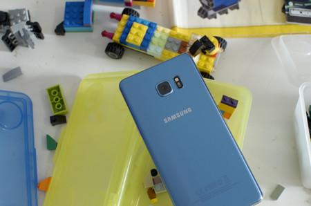Galaxy Note 7 Trasera Azul