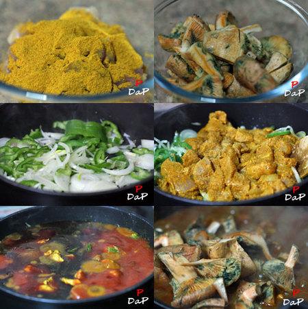 Hacer pollo adobado en ras-el-hanout
