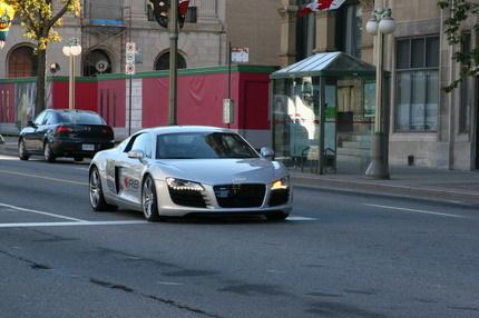 Audi R8 Canadá