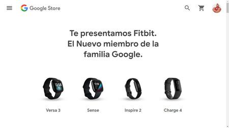 Google Store España ya vende los relojes inteligentes y pulseras de actividad de Fitbit