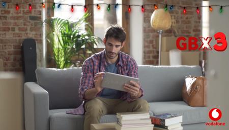 Triple de gigas, la promoción navideña de Vodafone para prepago