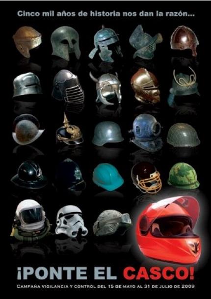 'Ponte el casco', nueva campaña de la DGT para el sur