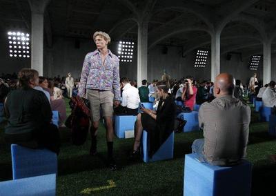 Prada, Primavera-Verano 2012 en la Semana de la Moda de Milán