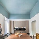Recursos decorativos; pintar o decorar los techos para marcar la diferencia