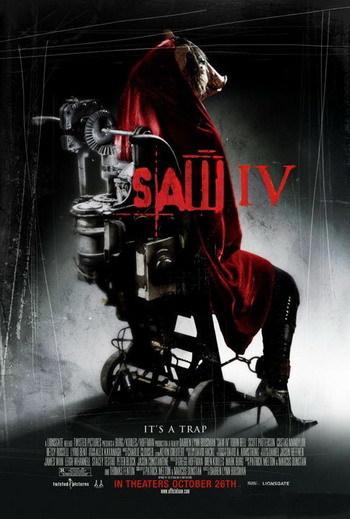 Teaser trailer y nuevo póster de 'Saw IV'
