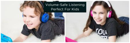 Puro Sound relanza sus auriculares  para niños JuniorJams con limitador de volumen y precio rebajado