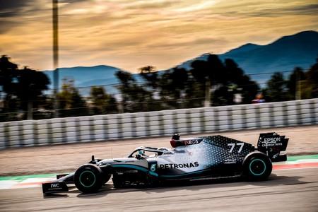 Valtteri Bottas y Mercedes comandan también el último día de pretemporada de la Fórmula 1 en Montmeló