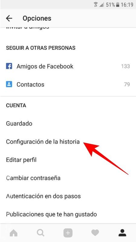 Configuracion De Historia