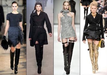Tendencias en calzado otoño-invierno 2010/2011: las botas, botines y zapatos a la moda
