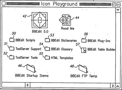 Nueva patente de Apple con iconos que cambian de tamaño, dependiendo de su importancia