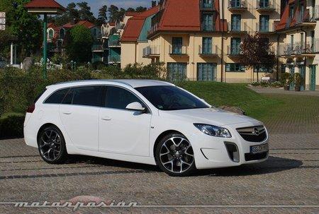 Opel Insignia OPC Unlimited, presentación y prueba en Alemania (parte 1)