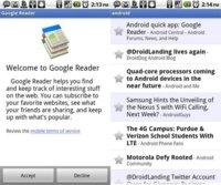 La aplicación oficial de Google Reader llega a Android