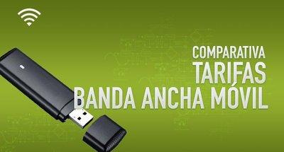 Comparativa tarifas de Banda Ancha móvil: Junio 2014