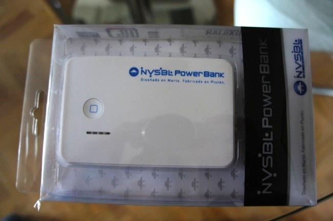 Nvsbl Power Bank, seguro que con ese botón os recuerda a algo familiar