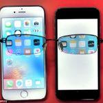 """Alguien dice haber inventado la forma de """"ocultar"""" la pantalla de un smartphone con un chip"""