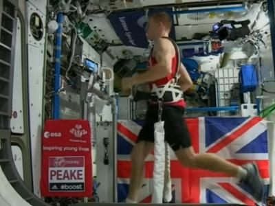 Así es como Tim Peake corrió la maratón de Londres desde el espacio