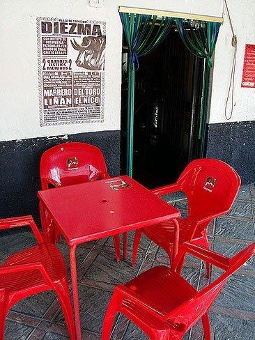 la silla de promoción
