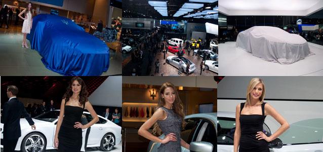 Salón de Detroit 2013, desde dentro