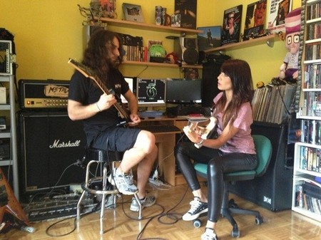Pilar Rubio clases de guitarra