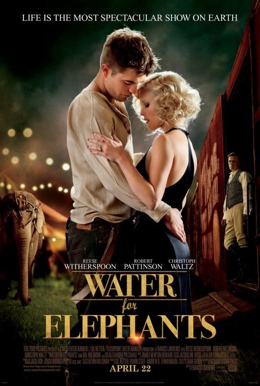 Foto de 'Agua para elefantes' ('Water for Elephants'), carteles (1/3)