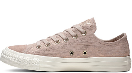 All Star Precious Metal Suede Low Top