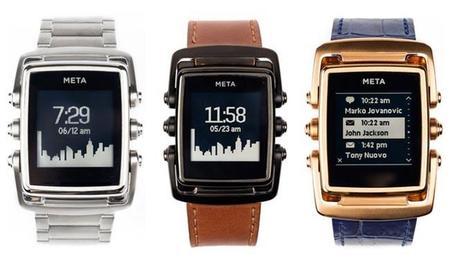 El reloj inteligente Meta M1 diseñado por Frank Nuovo ya se puede preordenar