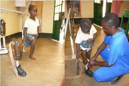 Niña en Heri Kwetu