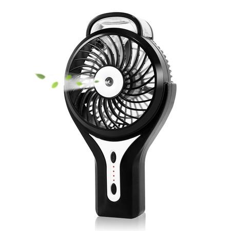 Mini ventilador y humidificador portátil Glamouric para evitar el calor este verano por 12,79 euros en Amazon (oferta flash)