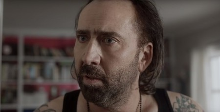 Nicolas Cage en un fotograma de Between Worlds