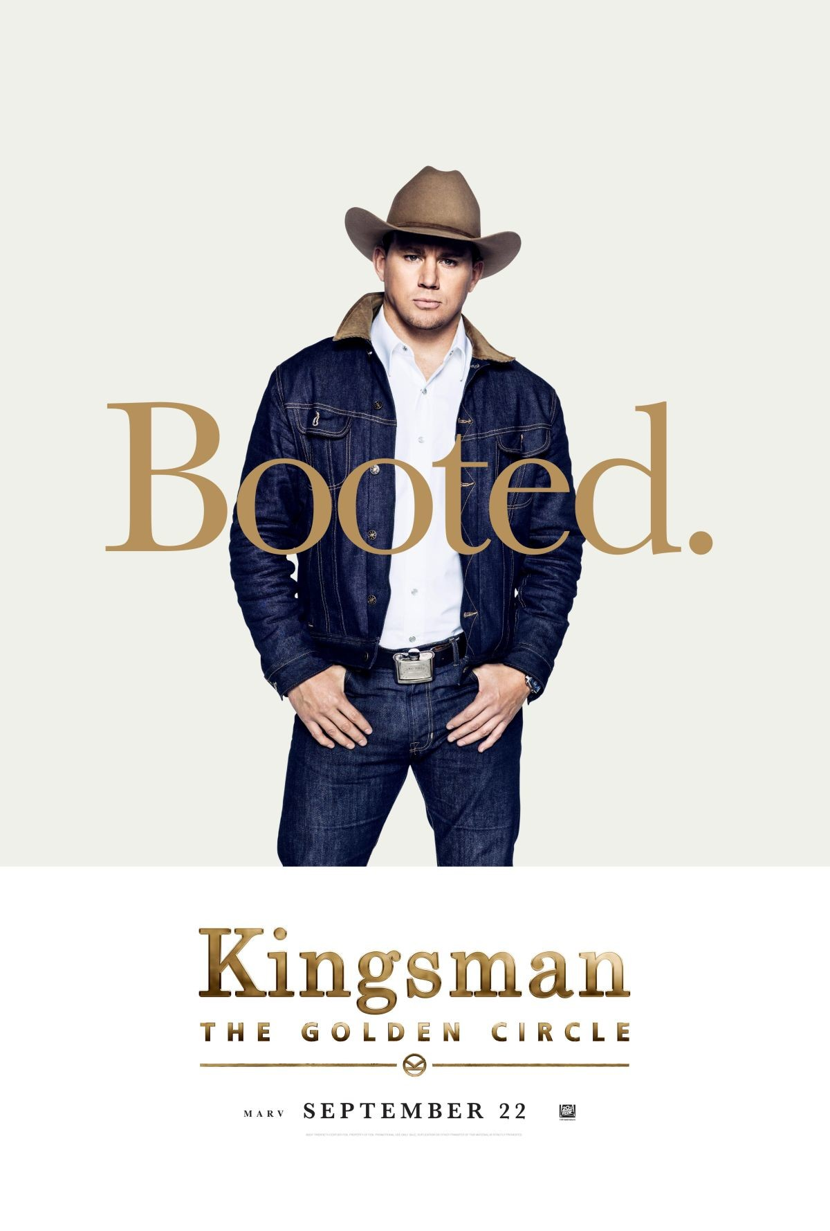 Foto de Carteles de los protagonistas de 'Kingsman: El círculo de oro' (2/8)