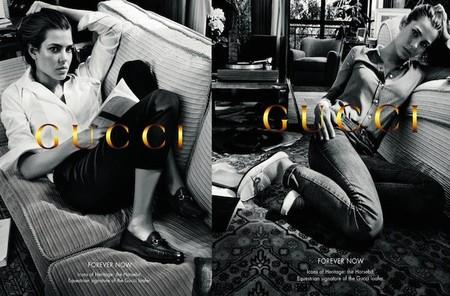Charlotte Casiraghi, imagen de la primera línea de cosméticos Gucci