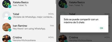 WhatsApp limita a cinco el reenvío de mensajes para acabar con las noticias falsas