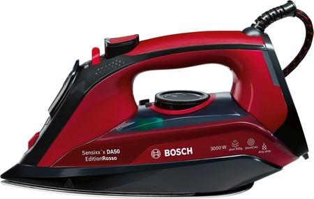 Oferta Flash en Amazon: plancha de vapor Bosch TDA503001P por sólo 52,49 euros con envío gratis hasta medianoche