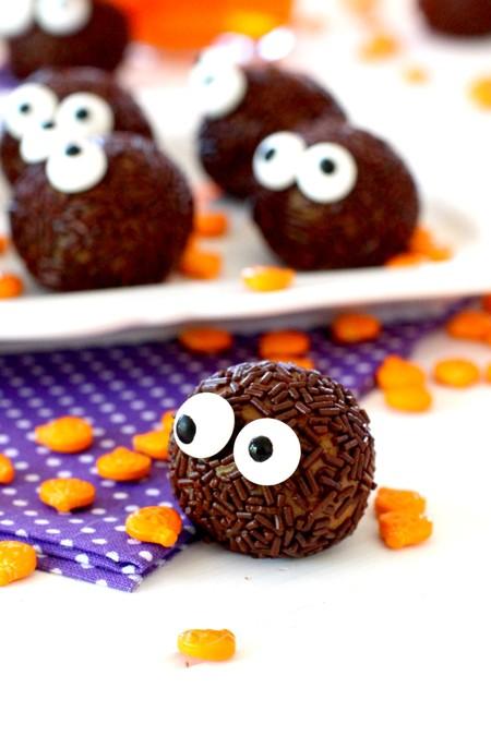 Trufas De Chocolate Y Calabaza Para Halloween Recetas Para Halloween 6 Min