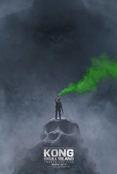 Kong Skull Island Teaser Poster Comic Con