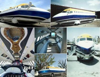 Un Boeing 727 convertido en limusina a la venta