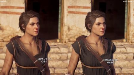 Assassin's Creed Odyssey: la versión en la nube de Switch frente a la de Xbox One X en una comparativa