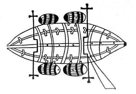 Guido Da Vigevano Submarine 1280 1349