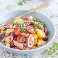 Las 11 mejores recetas de ensaladas con legumbres de Directo al Paladar
