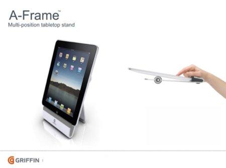 A Frame, stand de Griffin para el iPad
