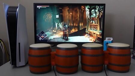 Sácale polvo a tus viejos bongos y demuestra tu sangre fría jugando a Demon's Souls con ellos, tal y como hace este usuario