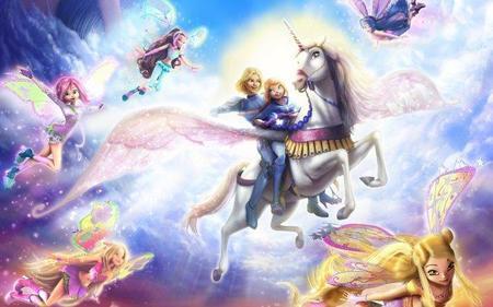 Cartel de Winx Club 3D: La aventura mágica